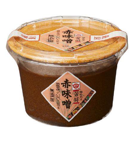 芳醇 赤味噌 (無添加)