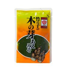 竹の子の木の芽あえみそ