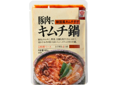 「世界のスープ・鍋料理シリーズ」キムチ鍋の素発売開始