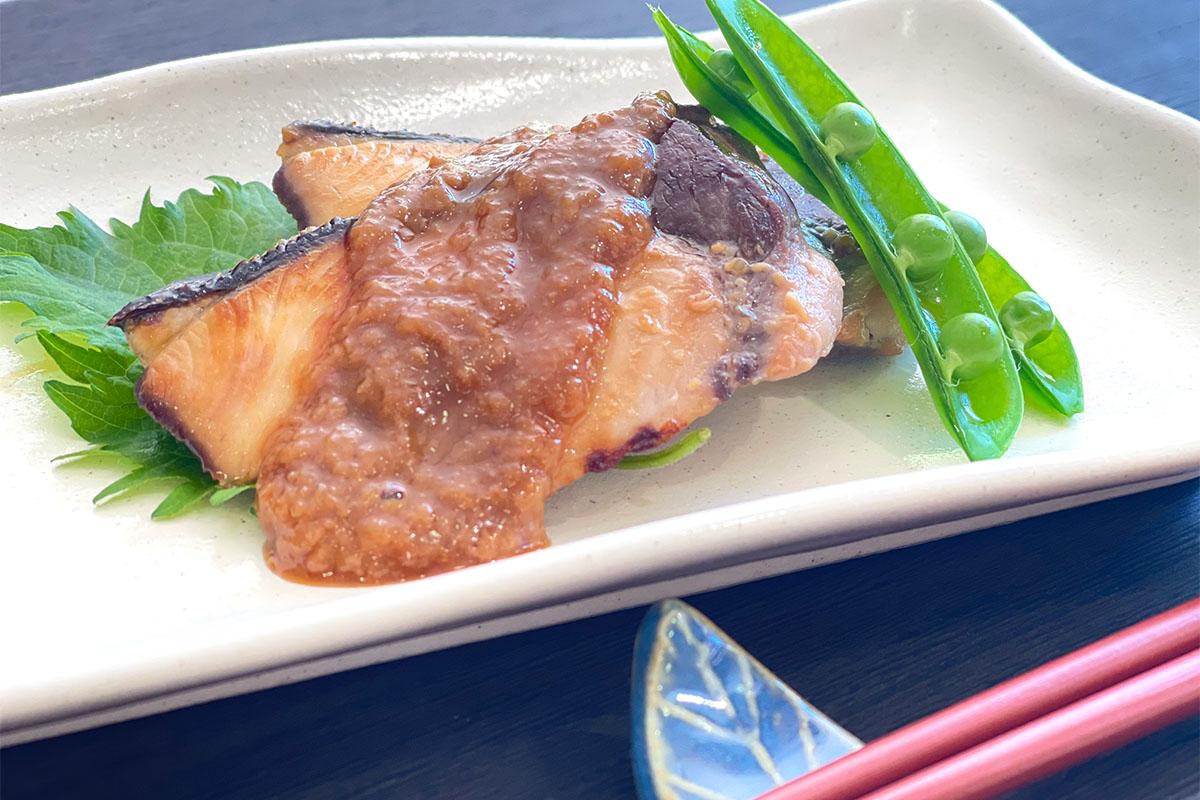 魚の照り焼き